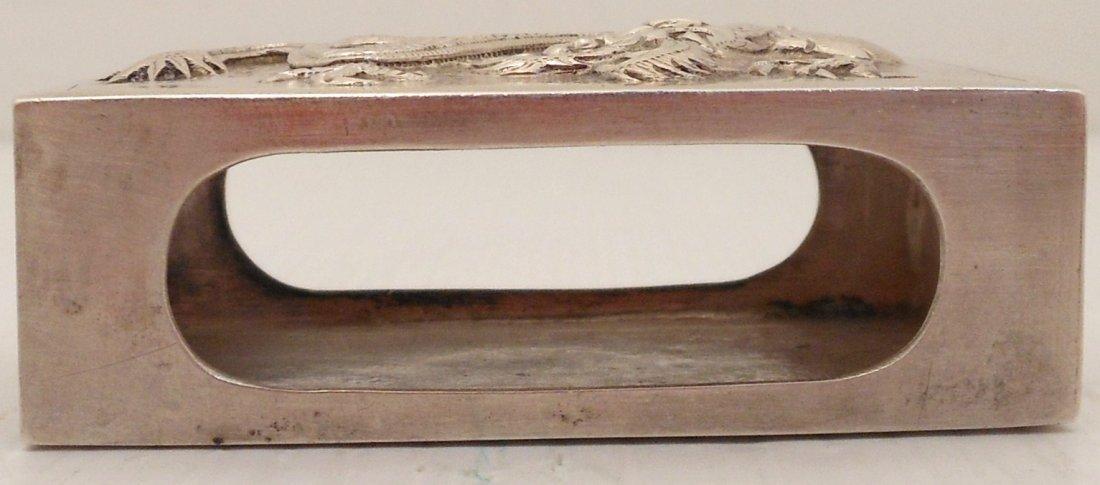 Silver Matchbox Holder - 3