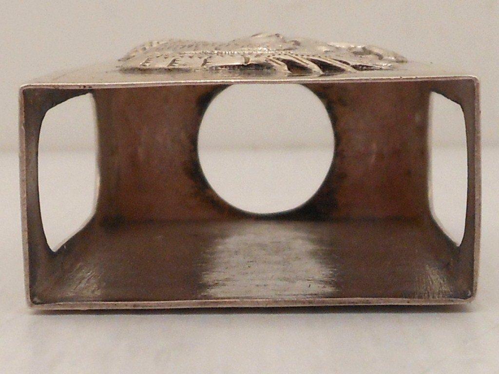 Silver Matchbox Holder - 4