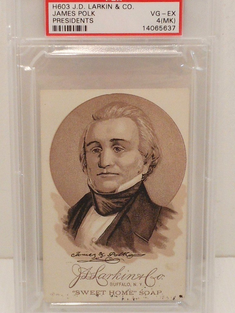 James Polk President  Card