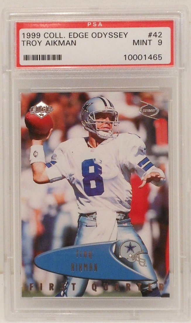 1999 Troy Aikman Card