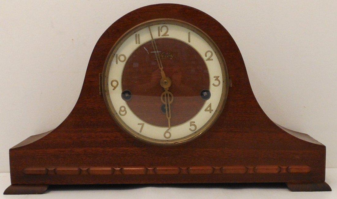 Vintage Welby Tambour Mantel Clock