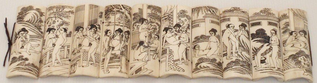 Tibetan Erotic Carving