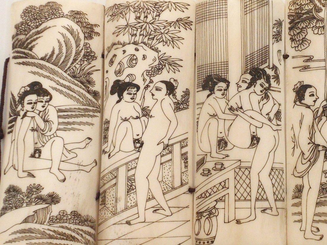 Tibetan Erotic Carving - 2