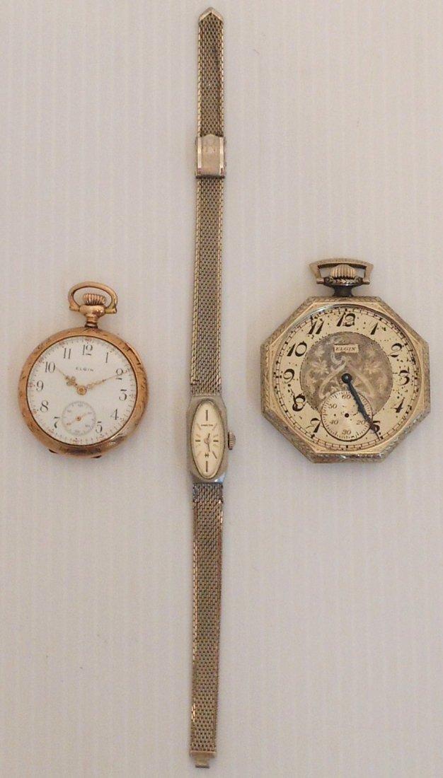 Lot of Watches  Hamilton & Elgin