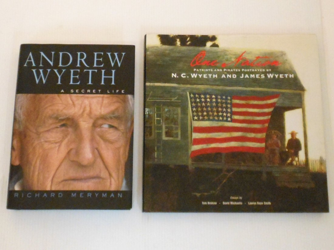Two Wyeth Hardcover Books