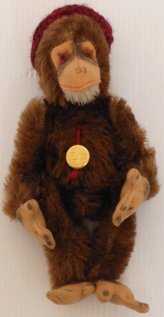 Vintage Hermann Teddy Monkey