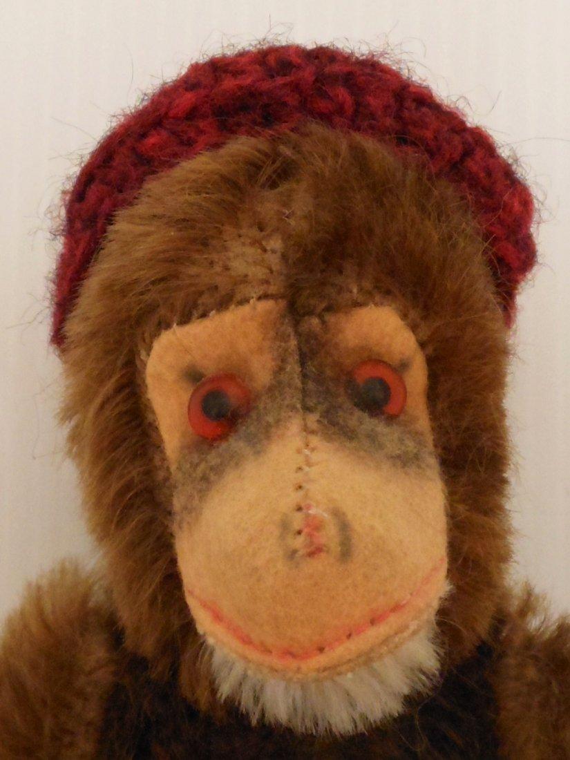 Vintage Hermann Teddy Monkey - 2
