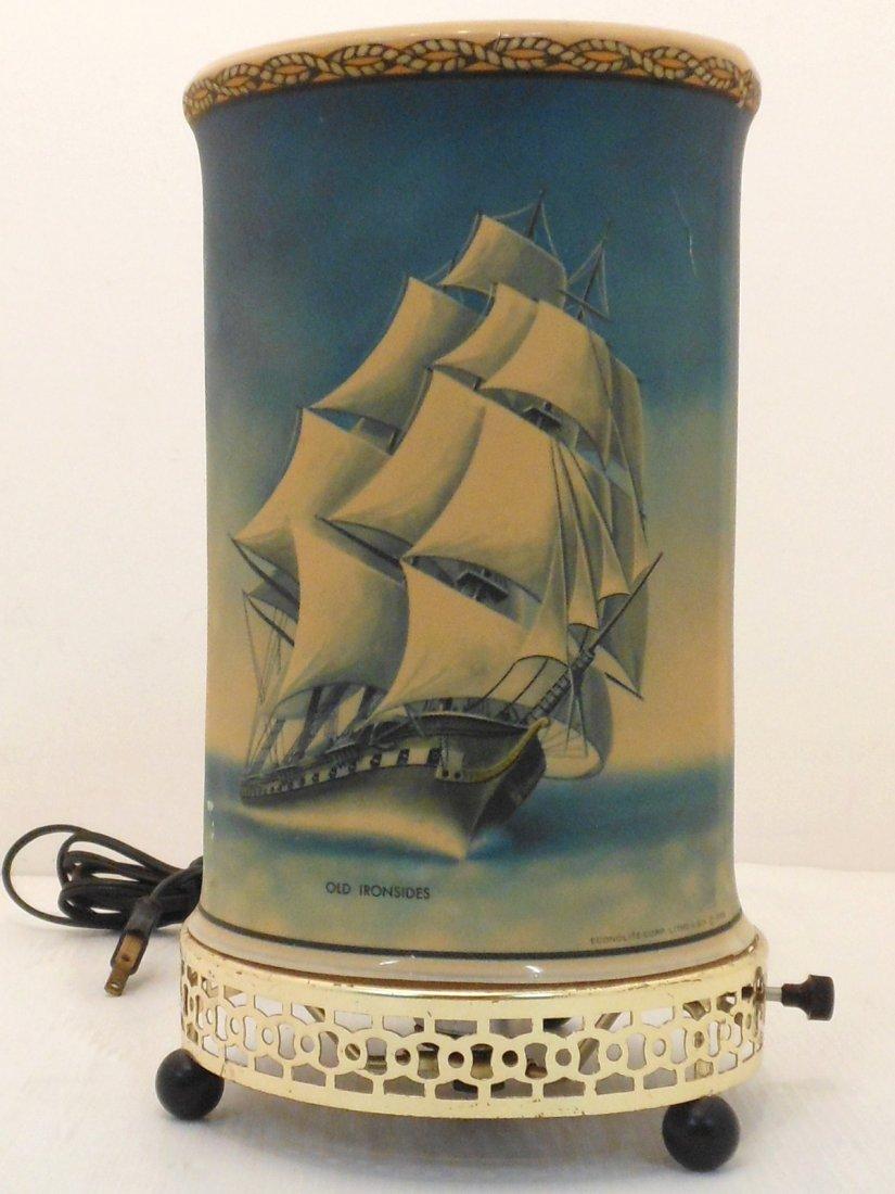 Vintage Sailing Vessels Motion Lamp