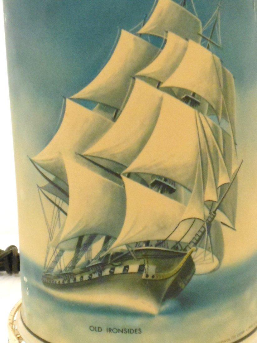 Vintage Sailing Vessels Motion Lamp - 3