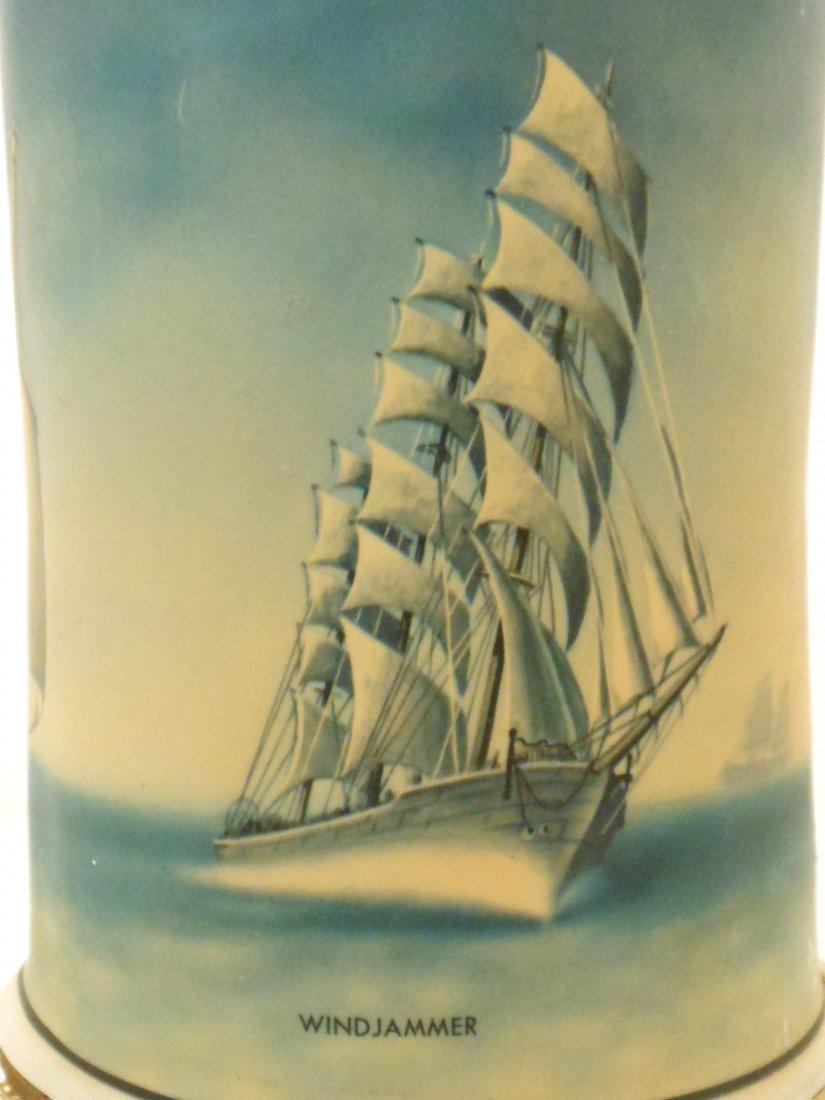 Vintage Sailing Vessels Motion Lamp - 4