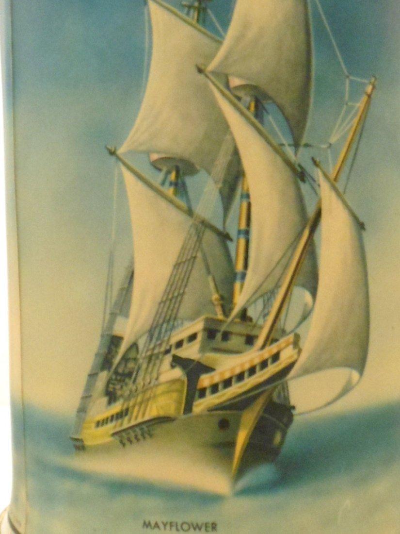 Vintage Sailing Vessels Motion Lamp - 5