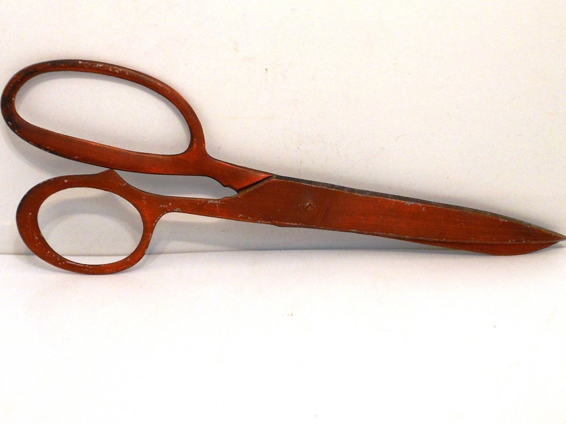 Oversized  Dressmaker's Shears for Window Display