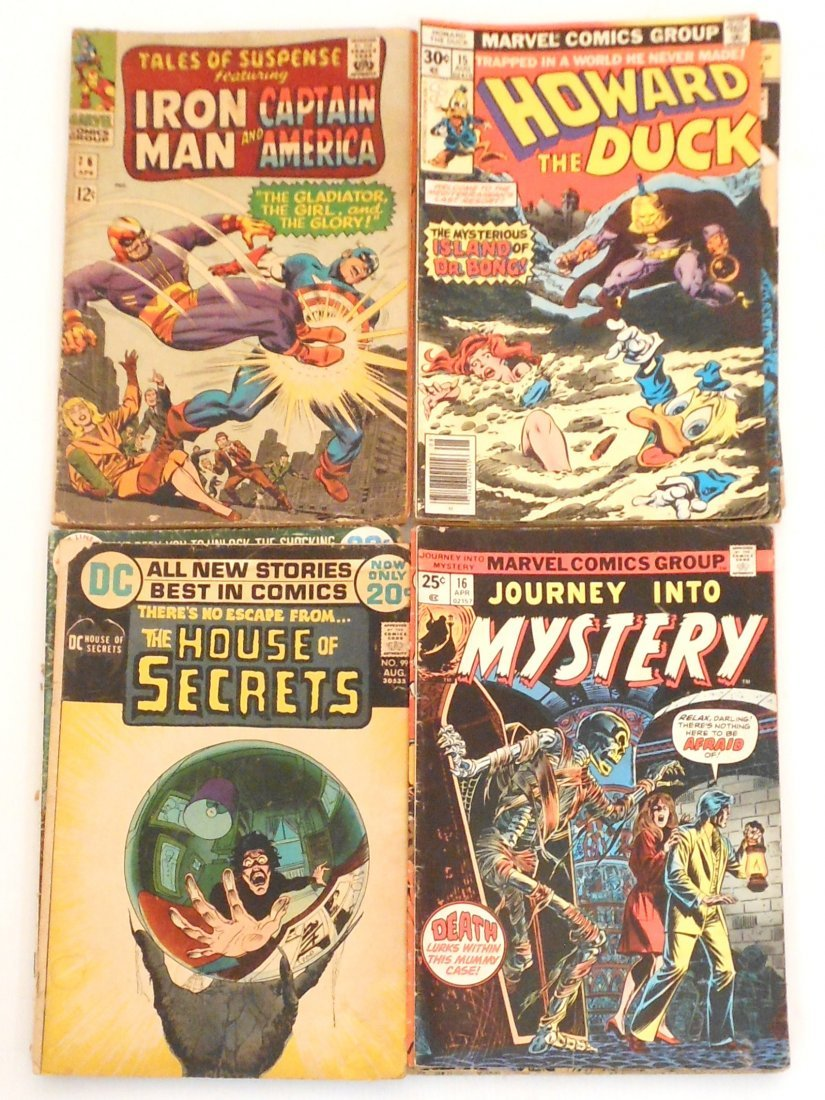 Lot of Vintage Comics Marvel DC Dell
