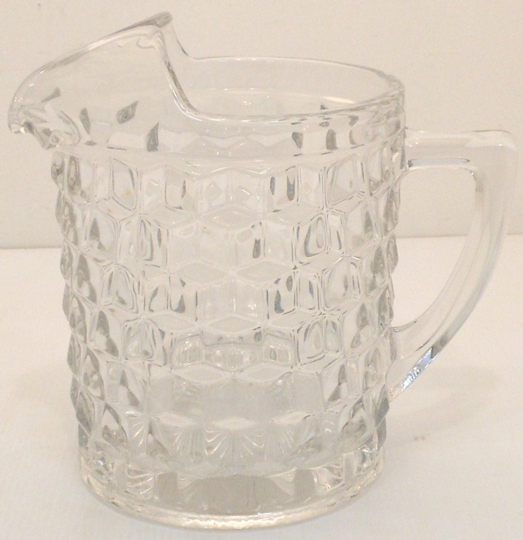 Early Fostoria American Water Pitcher