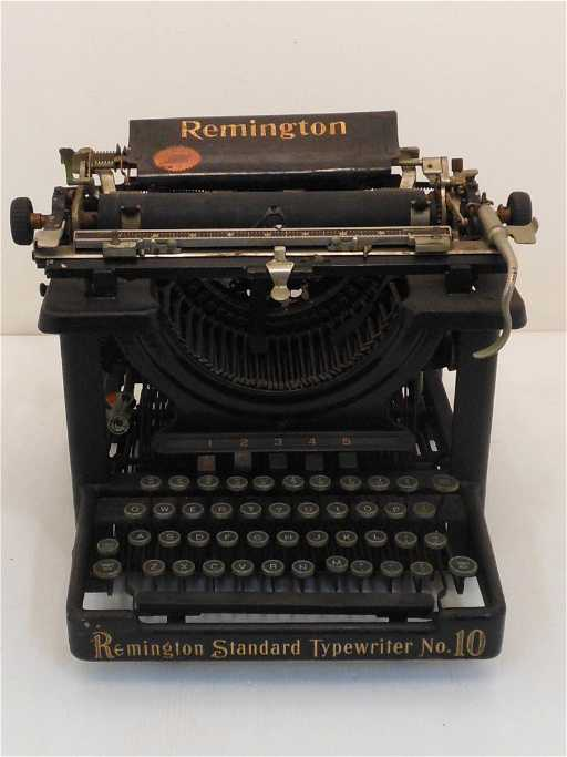 Vintage Remington Standard Typewriter No 10