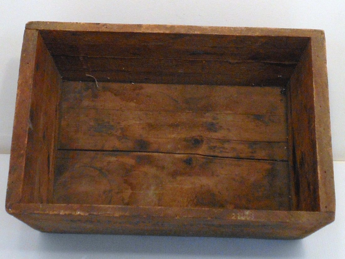 Vintage Winchester Wood Shipping Crate - 4