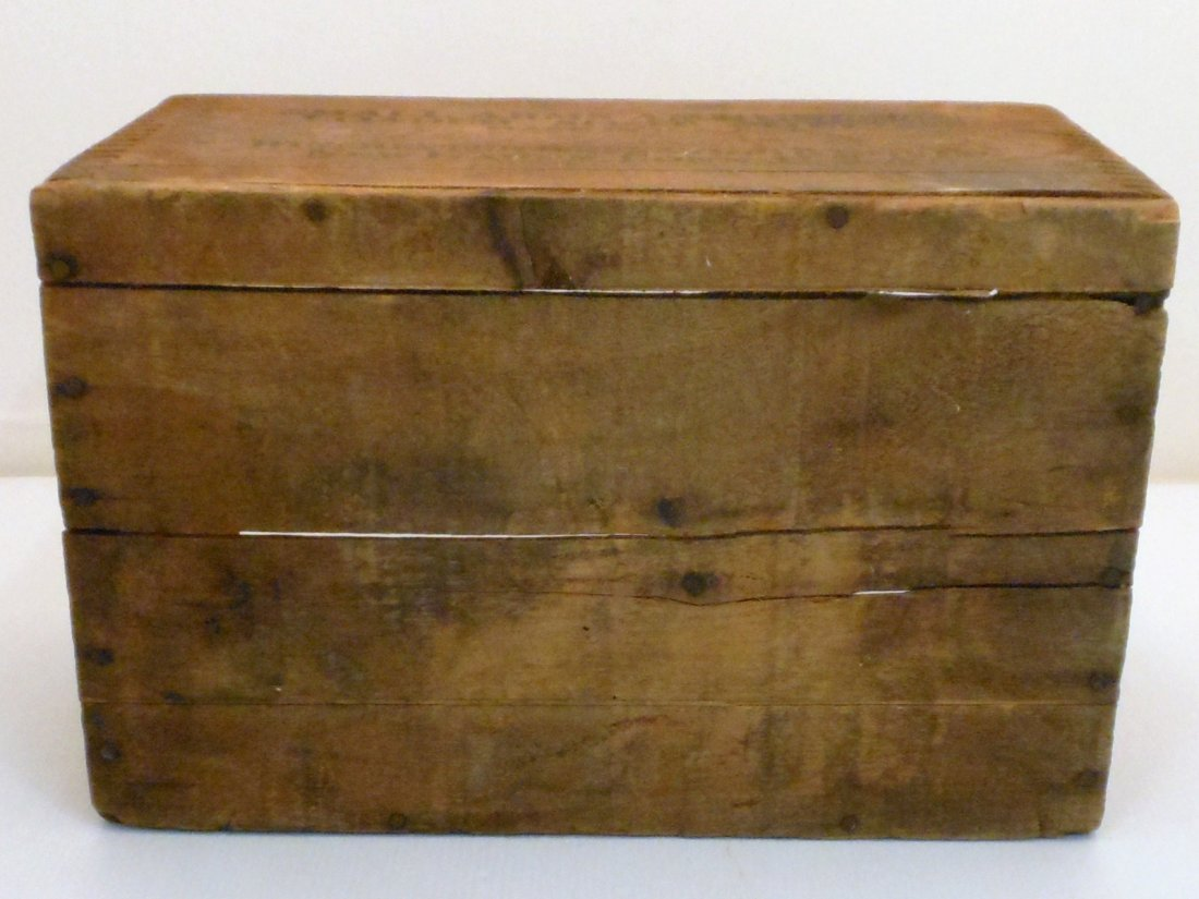 Vintage Winchester Wood Shipping Crate - 5