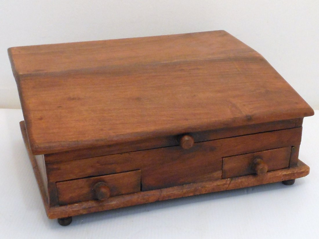 Vintage Stationary Writing  Box