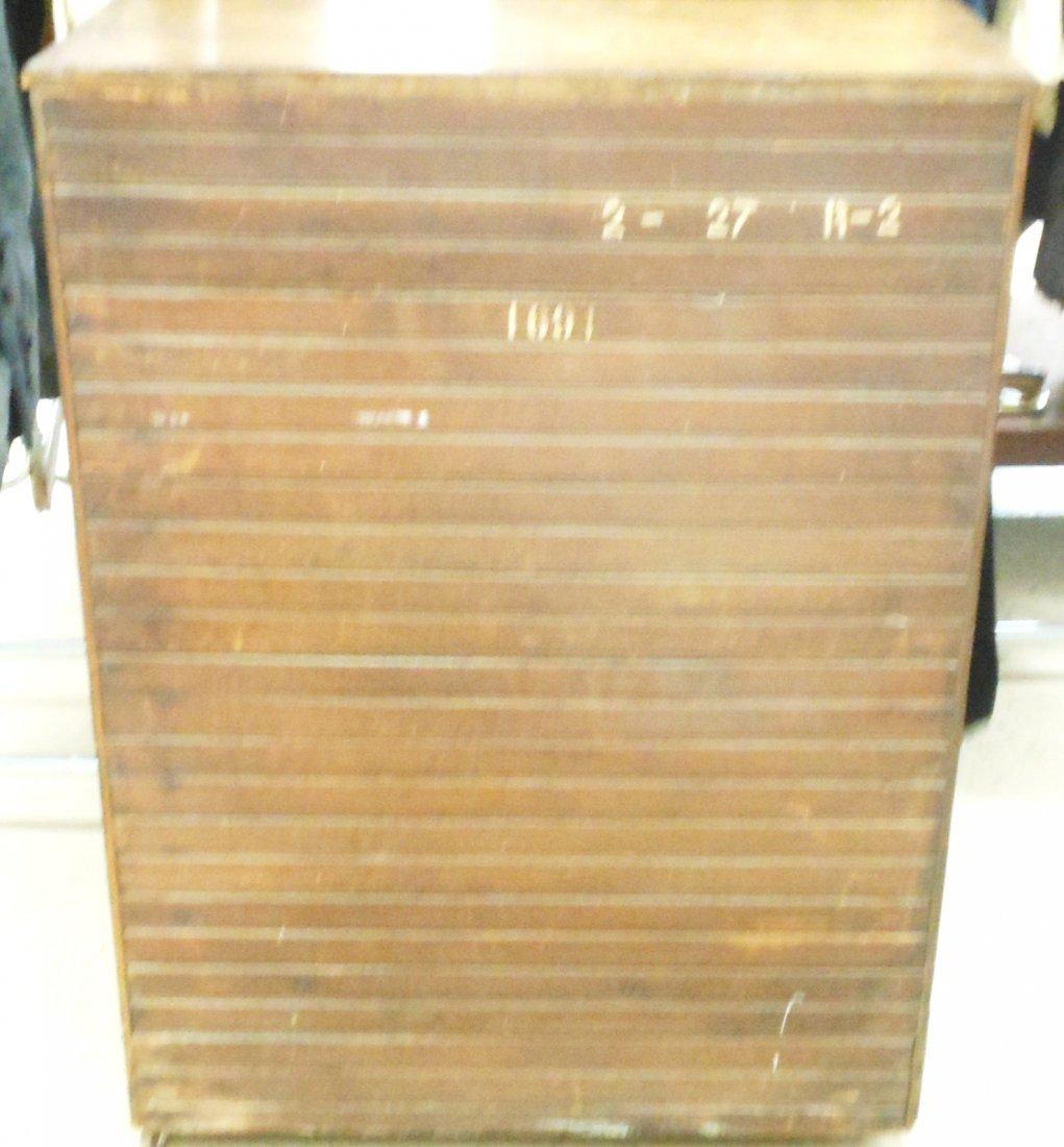 Vintage Bay State Oak Ice Box - 10