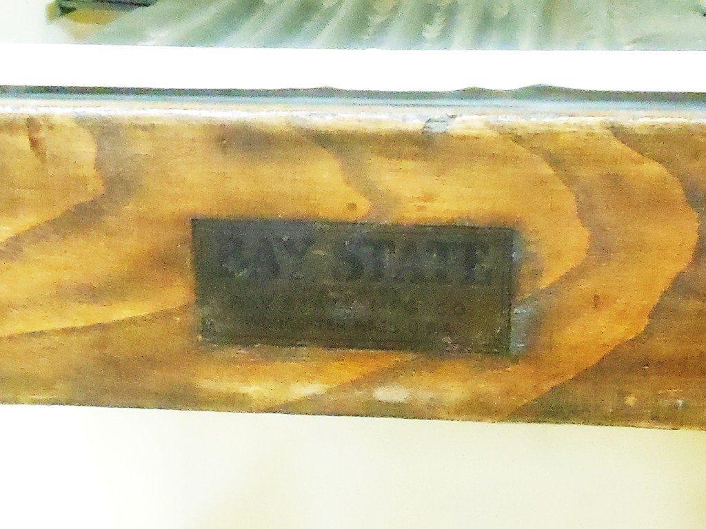 Vintage Bay State Oak Ice Box - 7