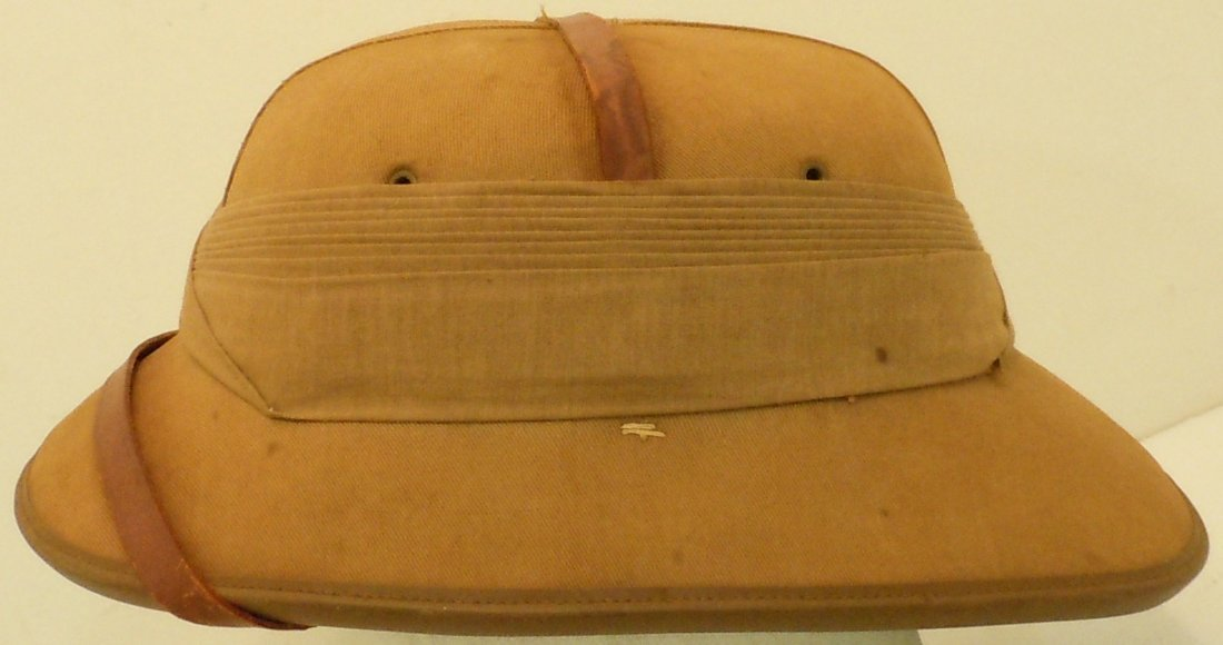 English 1938 Pith Helmet - 2