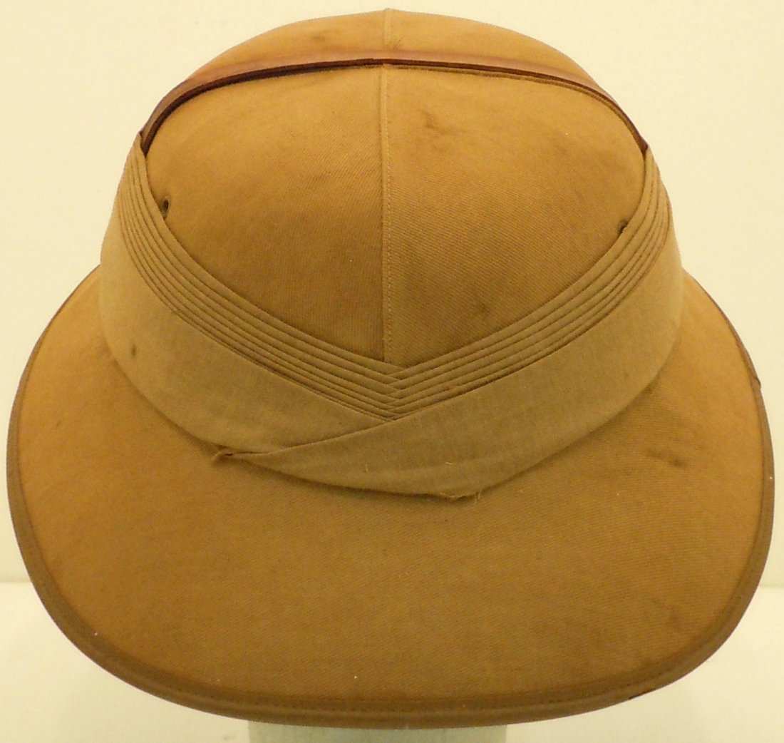 English 1938 Pith Helmet - 4