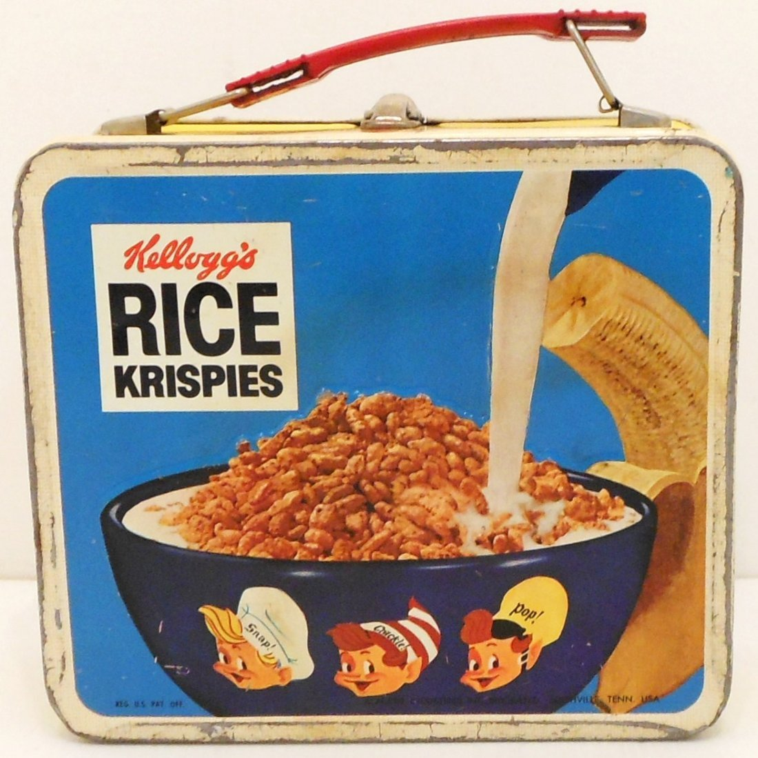 Vintage Kellogg's Cereals Lunch Box Thermos - 10