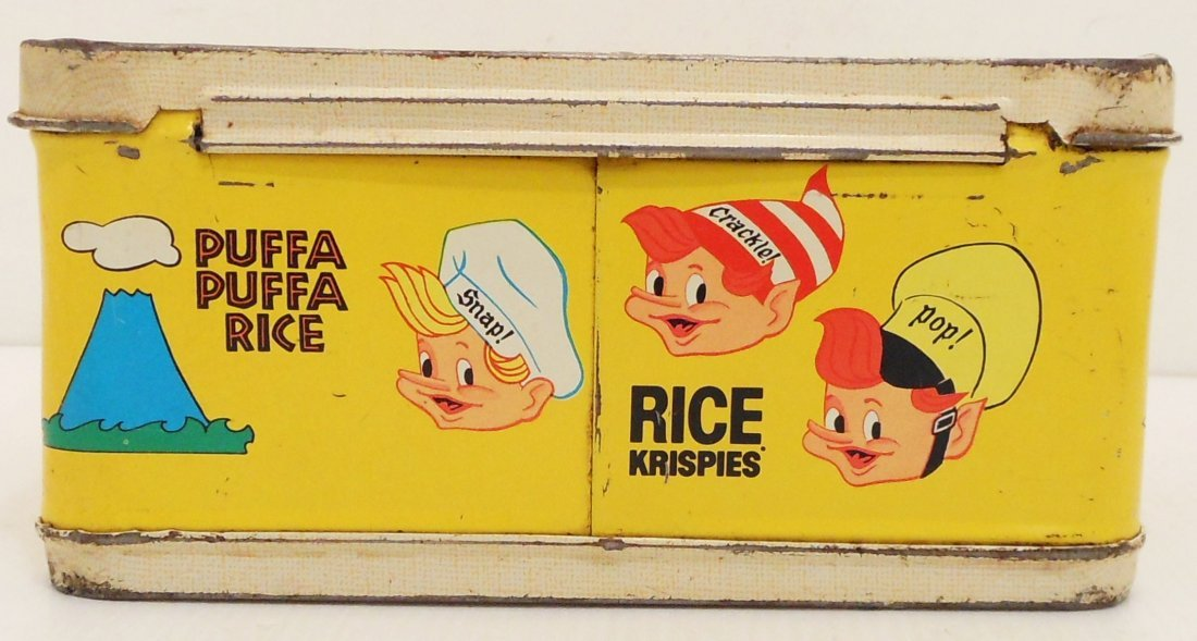Vintage Kellogg's Cereals Lunch Box Thermos - 3
