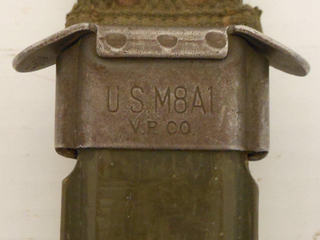 Kiffe M5 Bayonet for M1 Garand with 1943 M8A1 Scabbard - 7