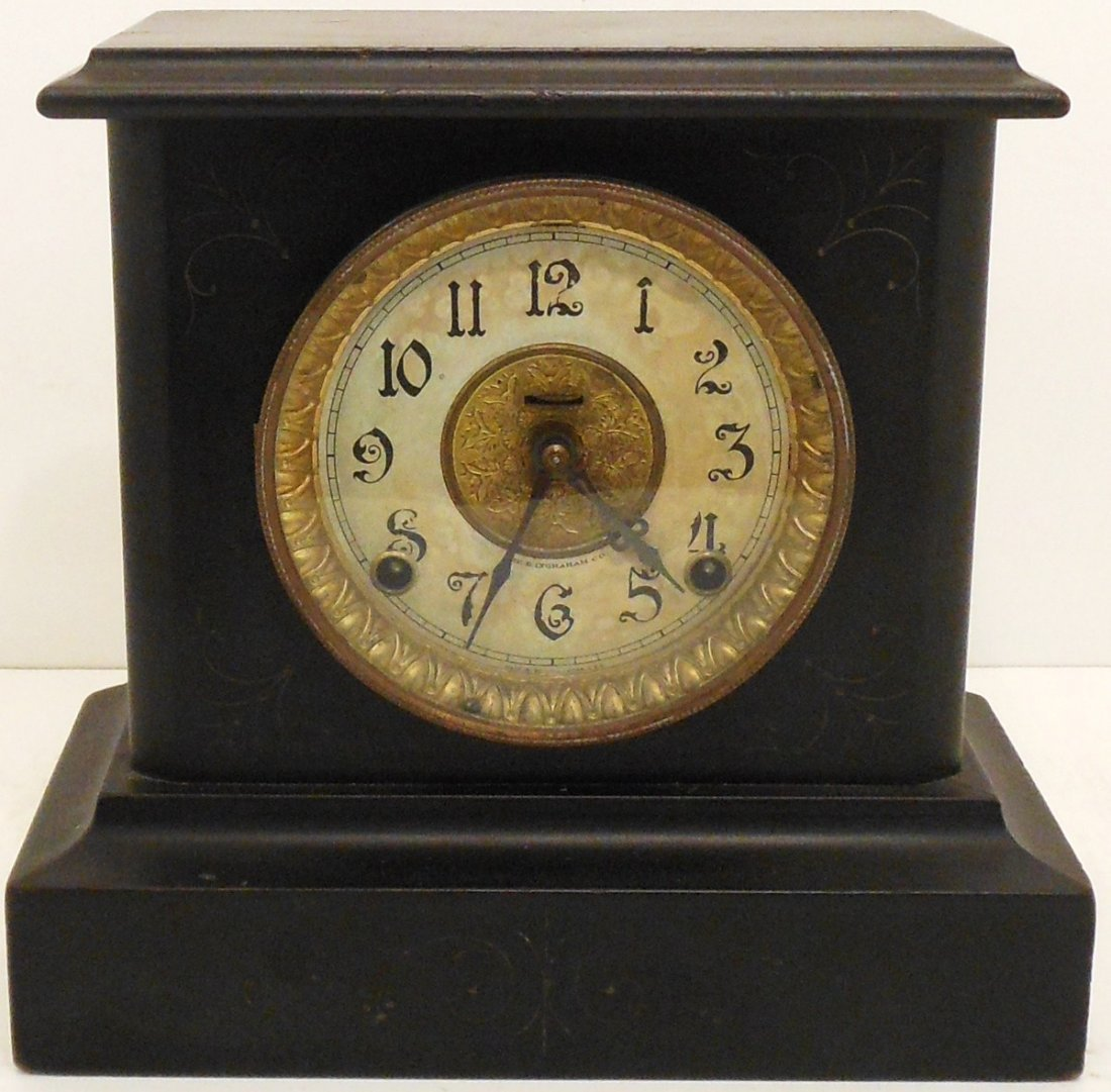 E Ingraham Mantel Clock Wizard