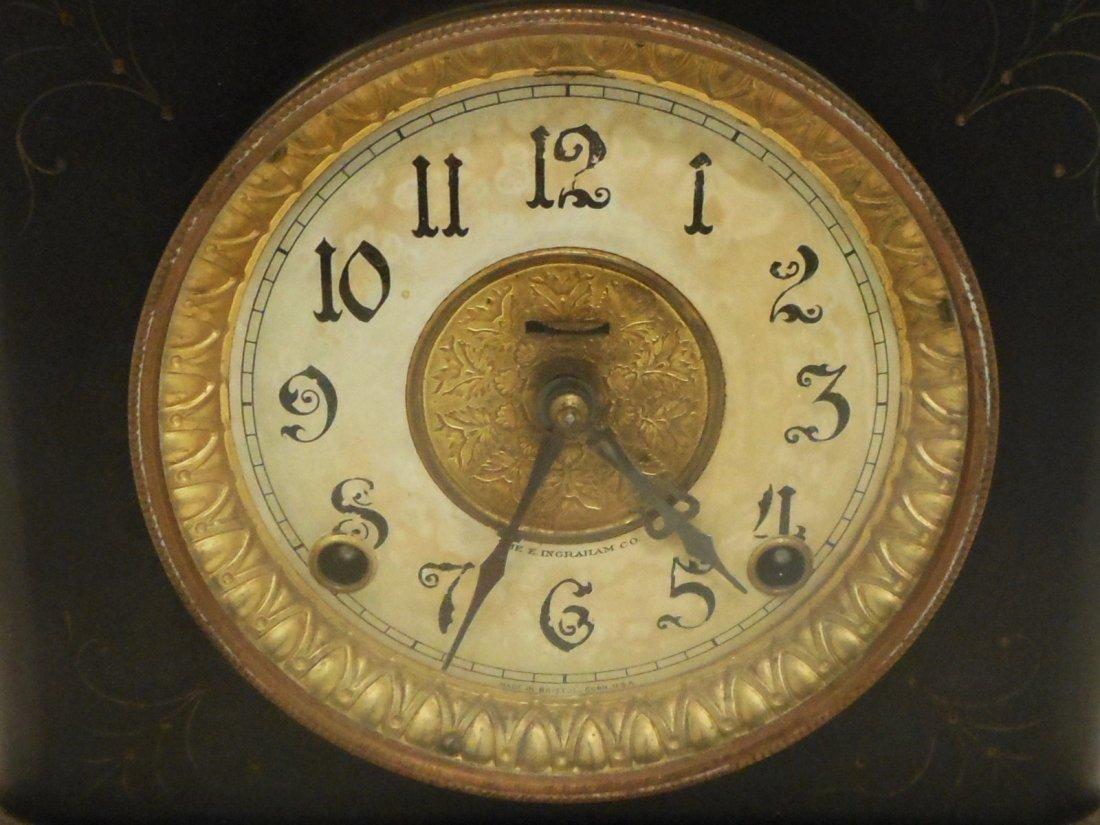 E Ingraham Mantel Clock Wizard - 2