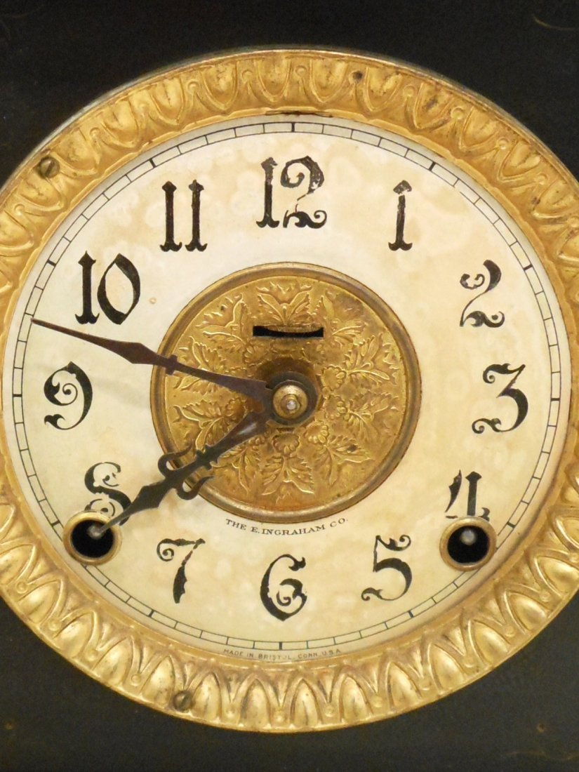 E Ingraham Mantel Clock Wizard - 3