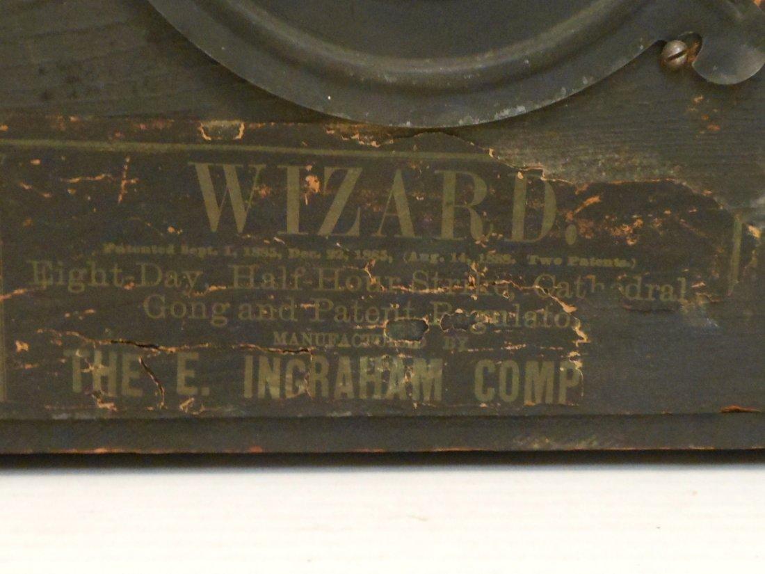 E Ingraham Mantel Clock Wizard - 9