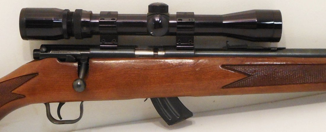 Lakefield Mark II 22 Cal with Bushnell Scope - 3