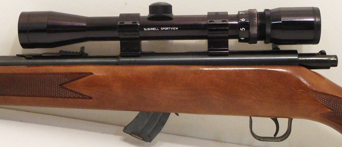 Lakefield Mark II 22 Cal with Bushnell Scope - 6
