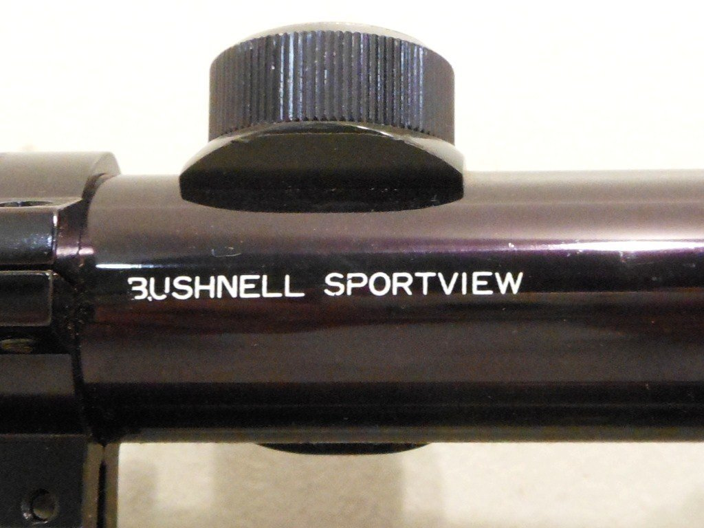 Lakefield Mark II 22 Cal with Bushnell Scope - 7