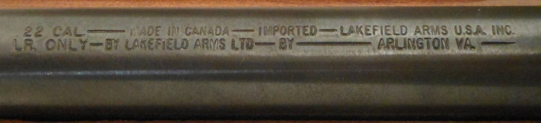 Lakefield Mark II 22 Cal with Bushnell Scope - 9