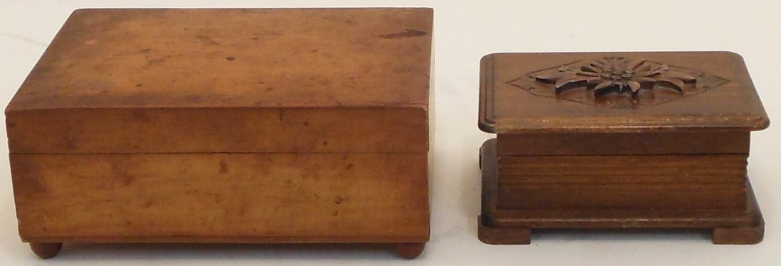 2 Vintage Swiss Music Boxes