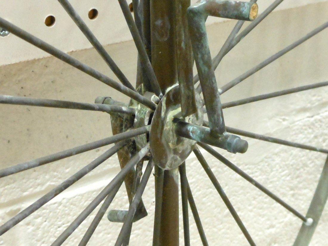 Vintage Weathervane Hi-Wheel Bicycle - 7