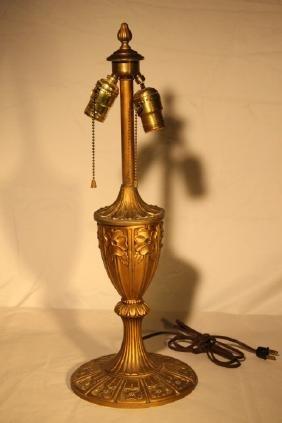 Floral Dogwood Motif Table Lamp Base