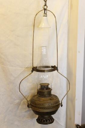 """""""Banner"""" Hanging Lamp"""