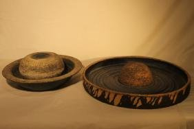 2 Contemporary Pottery Pcs