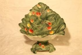 Italian Pottery Basket