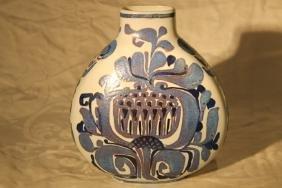 Royal Copenhagen Aluminia Faience Vase