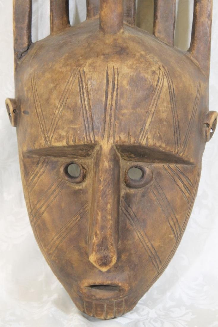 African Wood Mask - 4