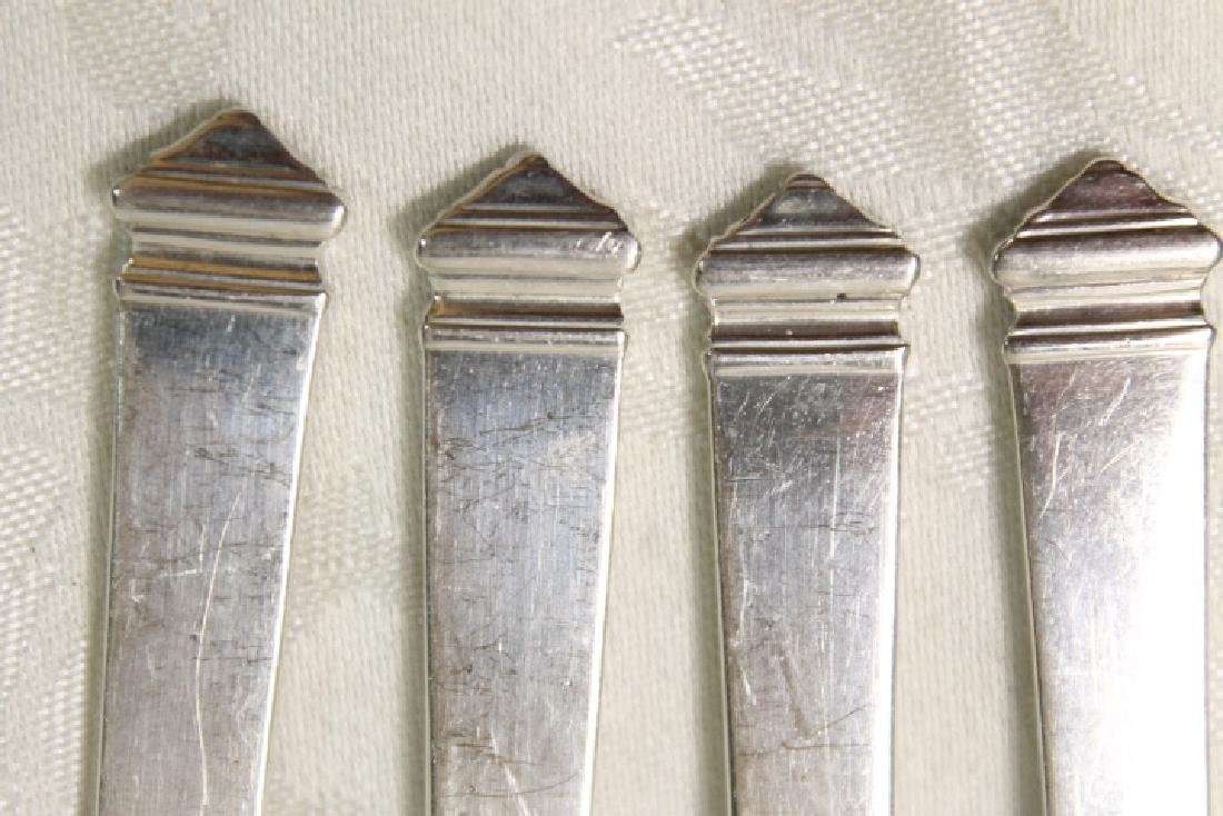 "Tiffany Sterling ""Hampton"" Oyster Forks - 2"