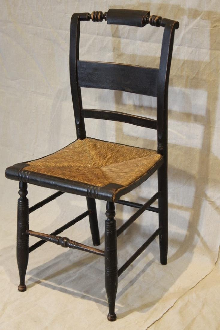 Set of Six Pillowback Hitchcock Chairs - 3