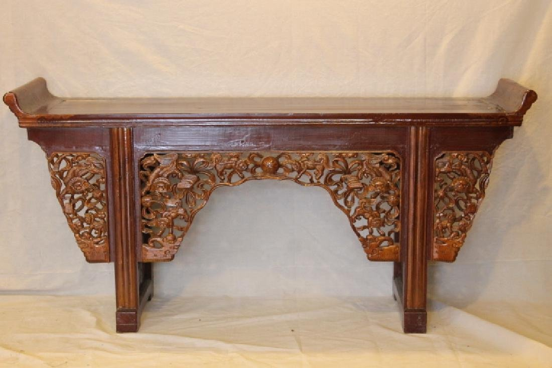 Chinese Lacquered Altar