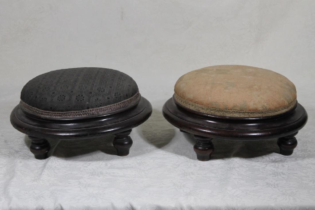 Pr. of Victorian Footstools