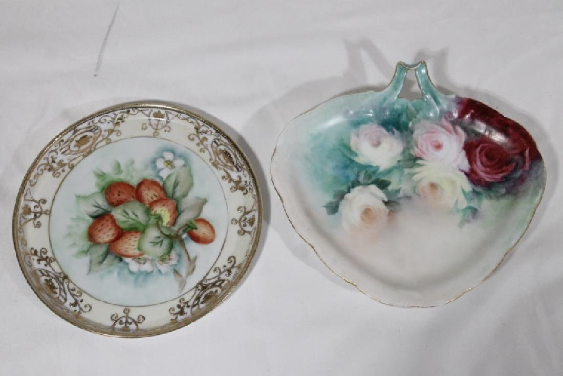 8 Pcs of Hand Ptd. Porcelain - 6